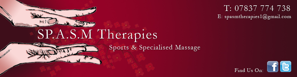 SP.A.S.M Therapies, Sports & Specialised Massage, Livingston, West Lothian, Scotland